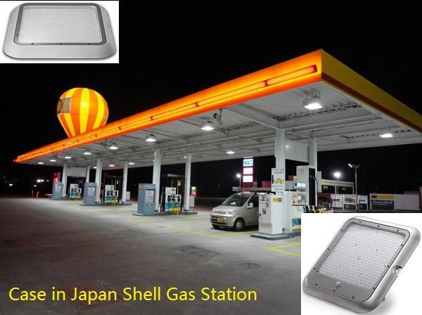 Led Canopy Lihgt 150w Led High Bay Light/hanging Gas Station Light ...