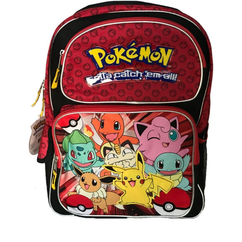 Get Quotations · Pokemon Backpack Bag - Not Machine Specific 5ed583a7d9aec