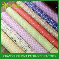 Factory Price Professional Printed Various Design christmas foil wrapping paper