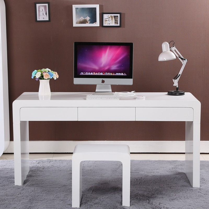 desk pc student small itm writing shelf hutch ladder saving saver space with computer printer laptop
