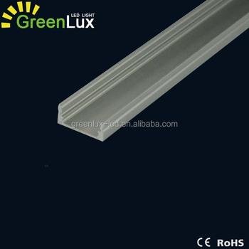 Genial Profile Aluminium Plat 1 Metre Pour Ruban LED 12V Non Etanche