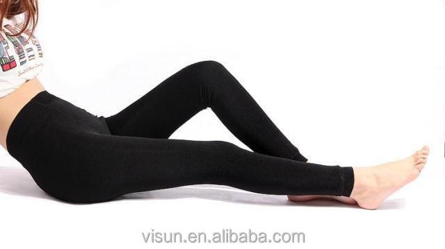 7f74650f941f8 Women Thick Warm Fleece Lined Fur Winter Sexy Tight Pencil Black Leggings  Pants