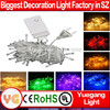 CE ROHS approveded 10 m 100 leds 9 color wifi led remote control multi function christmas led light