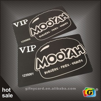 Custom Design Membership Card Pvc Vip Card - Buy Membership Card,Vip ...