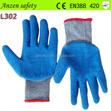 hand protective latex working glove for farming for porter