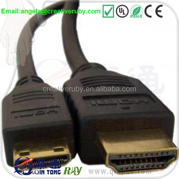 Mini HDMI cable to type A HDMI with ethernet 1m 1.5m 2m 3m 5m 8m10m15m
