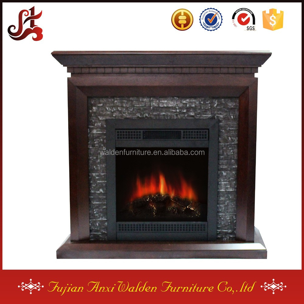 faux stone wood burning fireplace inserts