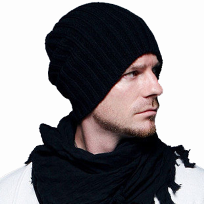 a007f46a2 Manufacturers selling Beckham knitted men's hats Korean fashion ...