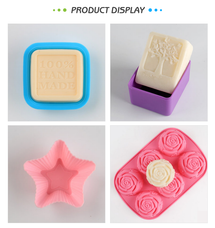 Novelty love handmade candle decorative craft soap mold with custom logo