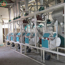 5-500t/24h complete set wheat flour mill production line in india
