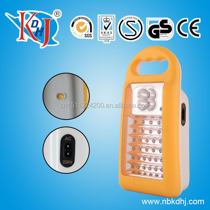 Factory sales made in China rechargeable led emergency lamp