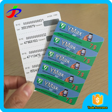 300g 5 in 1 Paper Scratch Prepaid Calling Card With five Pins