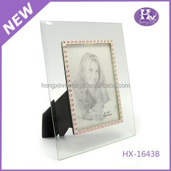 Hx-1643 Wholesale New Design Cheap Beautiful Love Girl Glass Photo ...