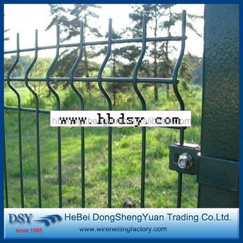 Used Welded Wire Mesh Fence Design For Sale /boundary Steel Fencing ...