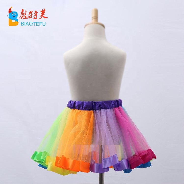5c983bc93 Venta al por mayor falda de tul con pliegues-Compre online los ...