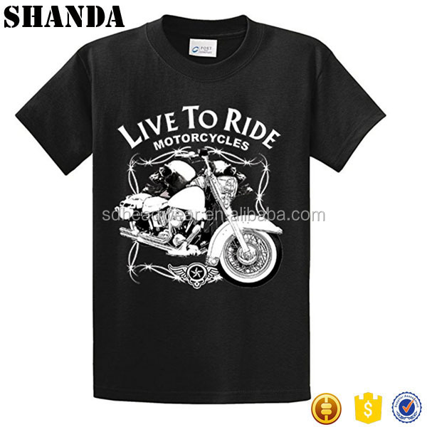 Made In China Custom Your Logo Organic Muscle Printed Tee Shirt Wholesale
