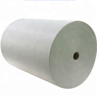 Cellulose viscose polyester wet wipe raw material fabric jumbo roll