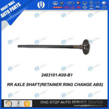 Rr Axle Shaft(retainer Ring Change Abs) 2403101-k00-b1 Supply All Types Of  Great Wall Spare Parts - Buy 2403101-k00-b1,Rr Axle Shaft(retainer Ring
