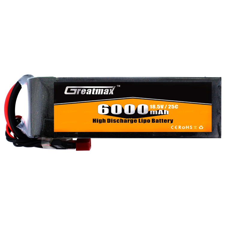 18.5V 6200mAh 5cell 25C buy brushless rc indoor helicopter rechargeable battery