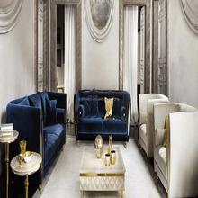 2018 NEW DESIGN Luxurious Italian Contemporary Stylish Upholstery Living Room Sofa Set