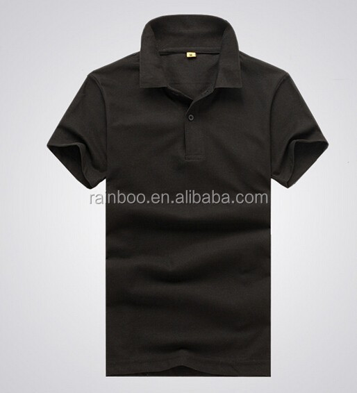 Cheap Logo printed fashion cotton promotional polo t-shirt