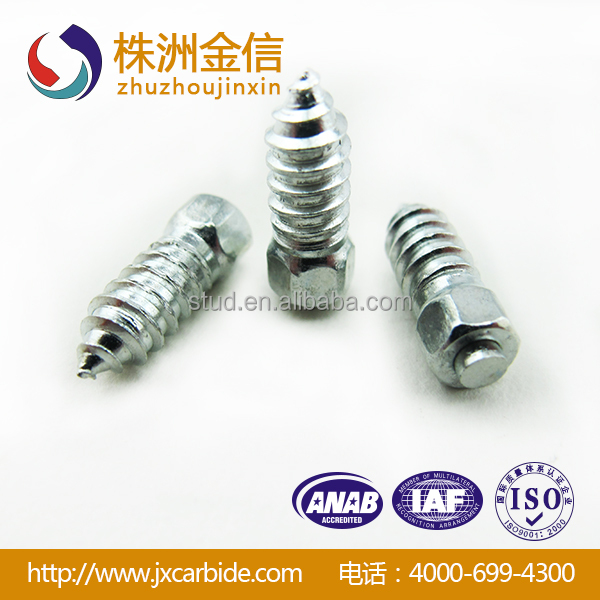 25mm carbide screw tire studs snow&ice grabber studs strap