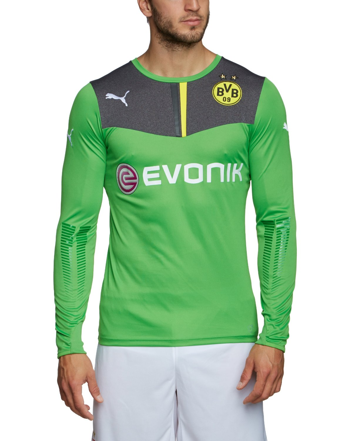finest selection ca1eb 68180 Buy Borussia Dortmund Home Goalkeeper Jersey 2014 / 2015 in ...