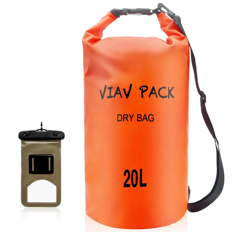 VIAV Waterproof Dry Bag 10L 15L 20L  Lightweight Compact  Roll Top Water 97fed58ce3745