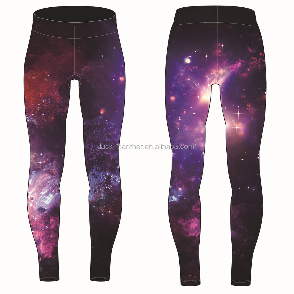 cb70a833b5 custom tights women fitness compression pants sublimation printed galaxy  leggings
