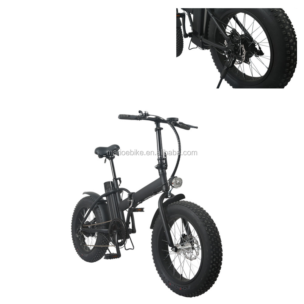 New design Cheap 20 inch foldable fat tire electric bike with pedals