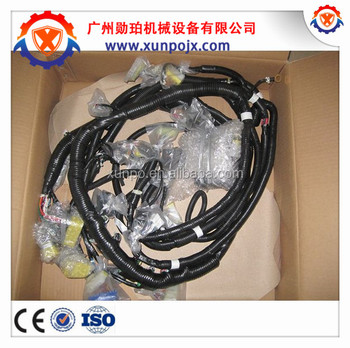 excavator wiring harness pc200 7,bosch cab electric wire harness 20y