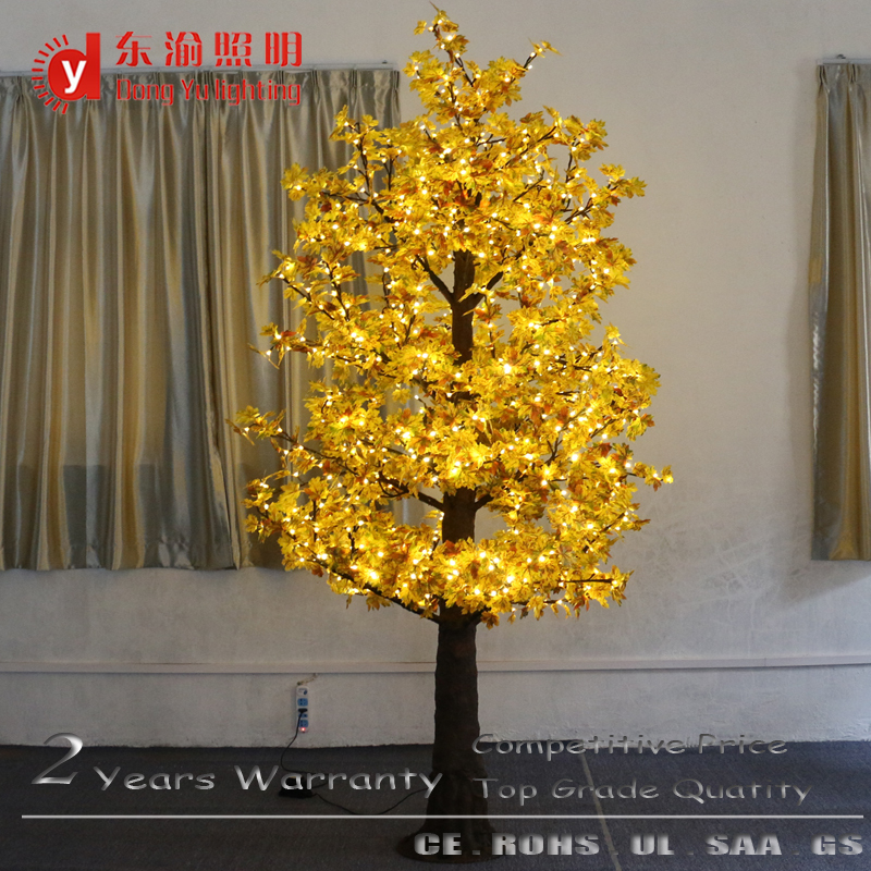 Outdoor Light Maple Tree Super Simulation Led Maple Light Tree ...