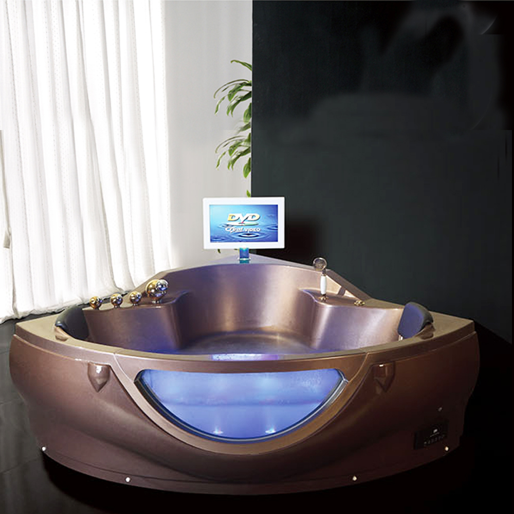 Hs-b258 Triangle Shaped Most Comfortable Bathtub For Fat People ...