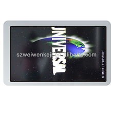 HOT! Wall-mounted kiosk media player, with samsung led screen