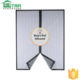 Anti mosquito Magnetic window screen with magic loop sewn
