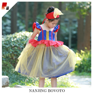 b93045ef7168 High end boutique snow white inspired little girls princess dresses