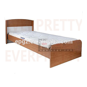 School furniture supplier hotel living room wooden bed design / european bedroom set/ beds wood prices in egypt