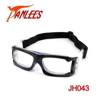 36fe2c7b201 Custom New Style Adult Prescription Sport Goggles Basketball Glasses Soccer  Glasses With Adjustable Strap
