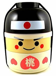 Get Quotations Peach Boy Kokeshi Bento Box By Japanese Boxes