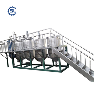1-200TPD Automatic Peanut Oil Production Line with Pretreatment, Solvent Extraction and Refining and Overseas Services