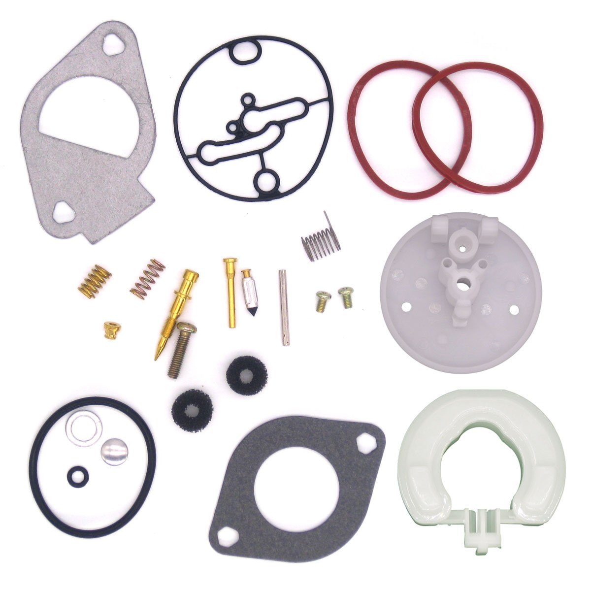 Atoparts Fits Briggs & Stratton Carburetor Rebuild Kit Master Overhaul Nikki Carbs 796184 Replaces 698787 790032