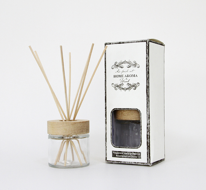 New Design Home Decoratie custom Geur Reed Diffuser Met Rotan Stokken