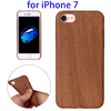 Wood Texture TPU Back Cover Case for iPhone 7