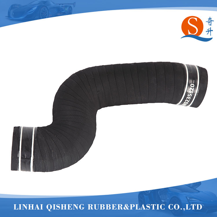 Good quality black air filter rubber hose