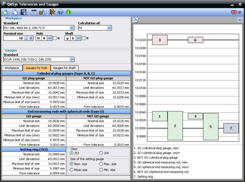Qmsys Tolerances And Gauges - Buy Software Product on Alibaba com