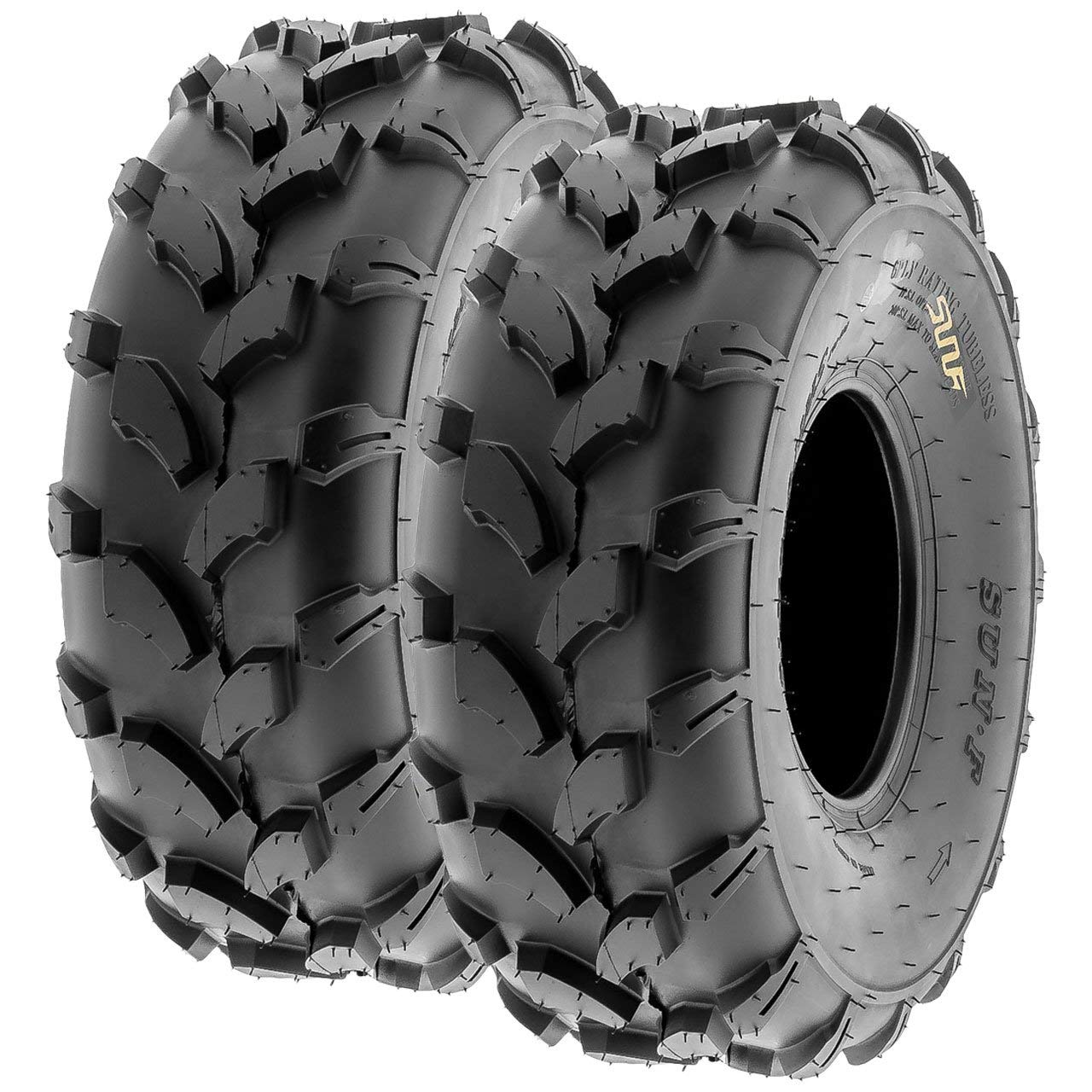 The ROP Shop New Pair 2 Link TIRE Chains 18x7x8 fits Many Polaris Ranger RZR UTV Vehicle
