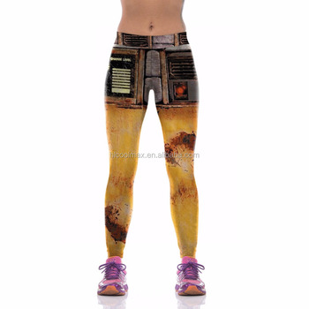 44c38afc59394 Sublimation Printed Sports Gym Legging Women Fitness Sexy Yoga Inner Wear