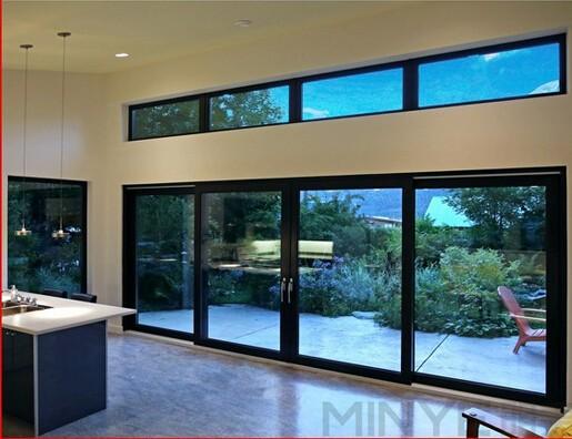 Usato porte scorrevoli in vetro vendita/commerciali usati in ...