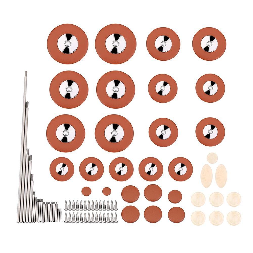 Mxfans Repair Tool Rollers Needle Springs Screws Bottons for Tenor Saxophone