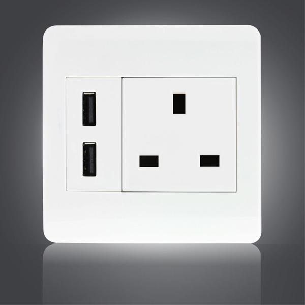 Au Uk Eu Us Multi Plug Usb Wall Sockets All In One Electric Wall ...